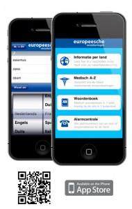 Hulp op Zak app bij Europeesche reiszekeringen