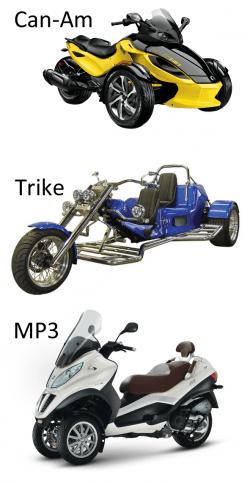 0721 overzicht bijzondere driewielers
